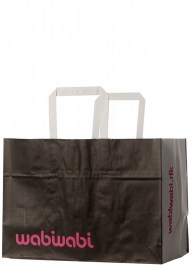 black take away bag pa05