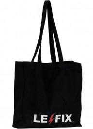 black tote with logo cc27