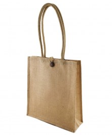 custom printed jute bag