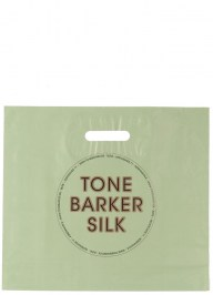 green plastic carrier bag ld13