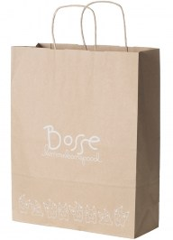 kraft paper shopping bag pa02