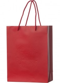 paper shopping bag with embossing ep23